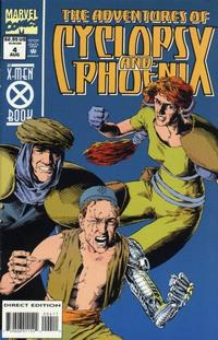 Cover Thumbnail for The Adventures of Cyclops and Phoenix (Marvel, 1994 series) #4 [Direct Edition]