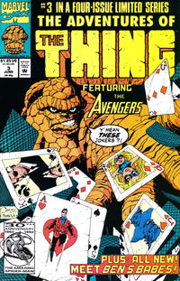 Cover Thumbnail for The Adventures of the Thing (Marvel, 1992 series) #3