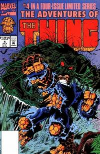 Cover Thumbnail for The Adventures of the Thing (Marvel, 1992 series) #4