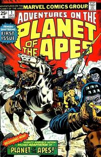 Cover Thumbnail for Adventures on the Planet of the Apes (Marvel, 1975 series) #1