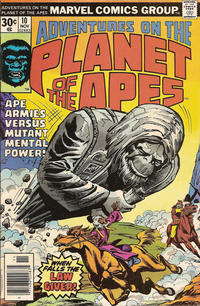 Cover Thumbnail for Adventures on the Planet of the Apes (Marvel, 1975 series) #10
