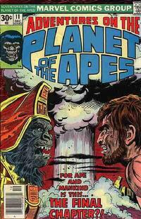 Cover Thumbnail for Adventures on the Planet of the Apes (Marvel, 1975 series) #11