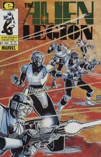 Cover Thumbnail for Alien Legion (Marvel, 1984 series) #3