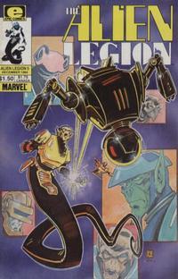 Cover Thumbnail for Alien Legion (Marvel, 1984 series) #5