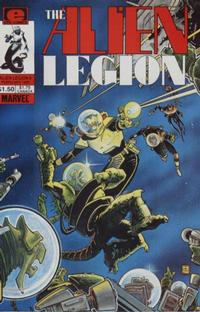 Cover for Alien Legion (Marvel, 1984 series) #6