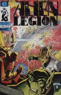 Cover Thumbnail for Alien Legion (Marvel, 1984 series) #7