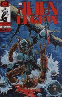 Cover Thumbnail for Alien Legion (Marvel, 1984 series) #8