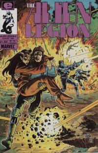Cover Thumbnail for Alien Legion (Marvel, 1984 series) #9