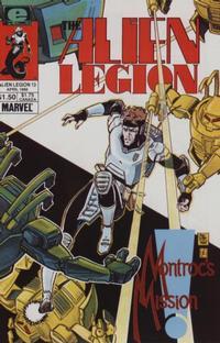 Cover Thumbnail for Alien Legion (Marvel, 1984 series) #13