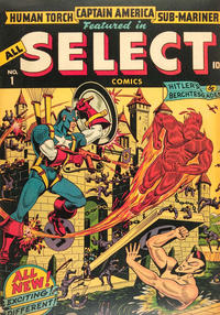 Cover Thumbnail for All Select Comics (Marvel, 1943 series) #1