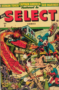 Cover Thumbnail for All Select Comics (Marvel, 1943 series) #3
