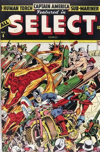 Cover Thumbnail for All Select Comics (Marvel, 1943 series) #4