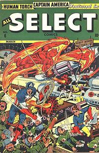 Cover for All Select Comics (Marvel, 1943 series) #6