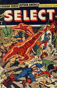Cover for All Select Comics (Marvel, 1943 series) #8