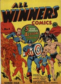 Cover Thumbnail for All-Winners Comics (Marvel, 1941 series) #1