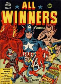 Cover Thumbnail for All-Winners Comics (Marvel, 1941 series) #2