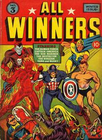 Cover Thumbnail for All-Winners Comics (Marvel, 1941 series) #3