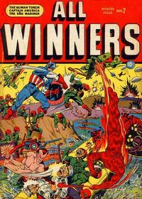 Cover Thumbnail for All-Winners Comics (Marvel, 1941 series) #7