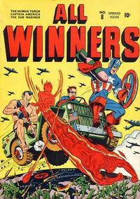 Cover Thumbnail for All-Winners Comics (Marvel, 1941 series) #8