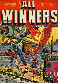 Cover Thumbnail for All-Winners Comics (Marvel, 1941 series) #9