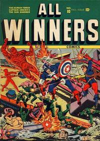 Cover Thumbnail for All-Winners Comics (Marvel, 1941 series) #10