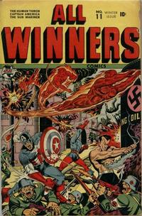 Cover Thumbnail for All-Winners Comics (Marvel, 1941 series) #11