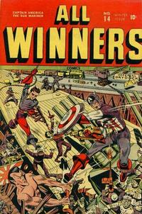 Cover Thumbnail for All-Winners Comics (Marvel, 1941 series) #14
