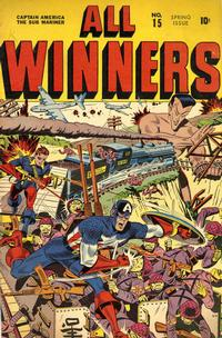 Cover Thumbnail for All-Winners Comics (Marvel, 1941 series) #15