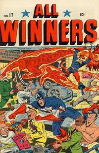 Cover Thumbnail for All-Winners Comics (Marvel, 1941 series) #17