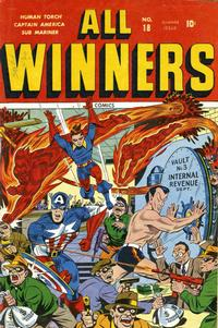 Cover Thumbnail for All-Winners Comics (Marvel, 1941 series) #18