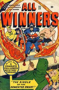 Cover Thumbnail for All-Winners Comics (Marvel, 1941 series) #21