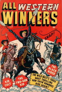 Cover Thumbnail for All-Western Winners (Marvel, 1948 series) #2