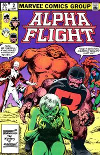 Cover Thumbnail for Alpha Flight (Marvel, 1983 series) #2 [Direct]
