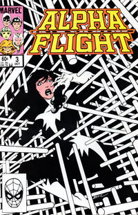 Cover Thumbnail for Alpha Flight (Marvel, 1983 series) #3 [Direct]