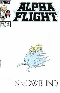 Cover Thumbnail for Alpha Flight (Marvel, 1983 series) #6 [Direct]