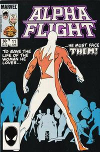 Cover Thumbnail for Alpha Flight (Marvel, 1983 series) #11 [Direct Edition]