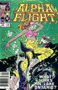 Cover for Alpha Flight (Marvel, 1983 series) #14 [Newsstand Edition]