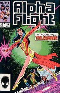 Cover for Alpha Flight (Marvel, 1983 series) #19 [Newsstand Edition]