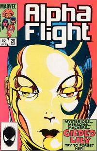 Cover Thumbnail for Alpha Flight (Marvel, 1983 series) #20 [Direct Edition]