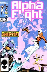 Cover Thumbnail for Alpha Flight (Marvel, 1983 series) #32 [Direct Edition]