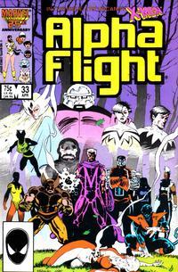 Cover Thumbnail for Alpha Flight (Marvel, 1983 series) #33 [Direct]