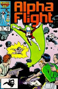 Cover Thumbnail for Alpha Flight (Marvel, 1983 series) #42 [Direct Edition]