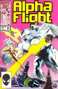 Cover Thumbnail for Alpha Flight (Marvel, 1983 series) #44 [Direct Edition]