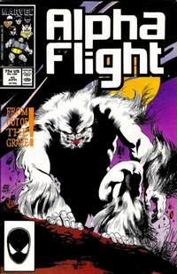 Cover Thumbnail for Alpha Flight (Marvel, 1983 series) #45 [Direct Edition]