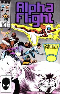 Cover for Alpha Flight (Marvel, 1983 series) #48 [Direct Edition]