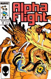Cover Thumbnail for Alpha Flight (Marvel, 1983 series) #49 [Direct]