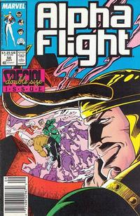 Cover Thumbnail for Alpha Flight (Marvel, 1983 series) #50 [Newsstand Edition]