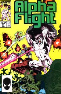 Cover for Alpha Flight (Marvel, 1983 series) #51