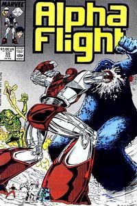 Cover Thumbnail for Alpha Flight (Marvel, 1983 series) #55