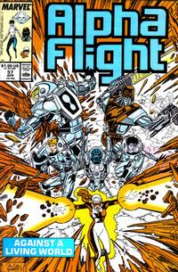 Cover Thumbnail for Alpha Flight (Marvel, 1983 series) #57